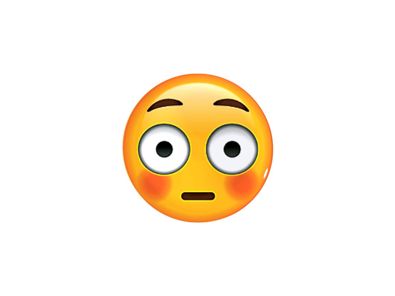 Armario Garaje Plastico ~ Adesivo Emoji Envergonhado Emblemax